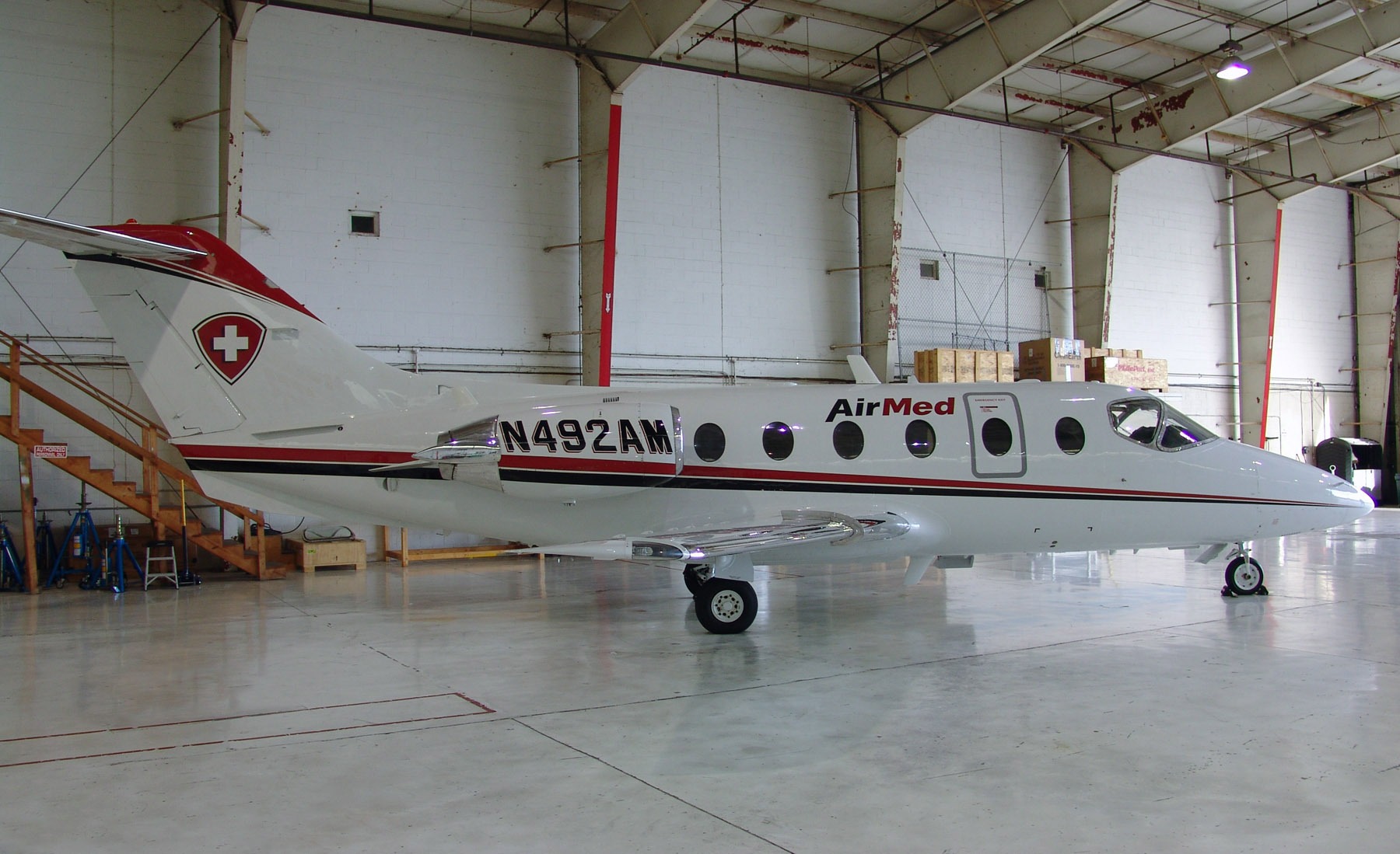 Beechjet 400 Air Medical Transportation Aircraft Has a New Base in Cincinnati